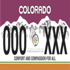Colorado Lawmakers Consider New License Plate to Honor Hospice and Palliative Care