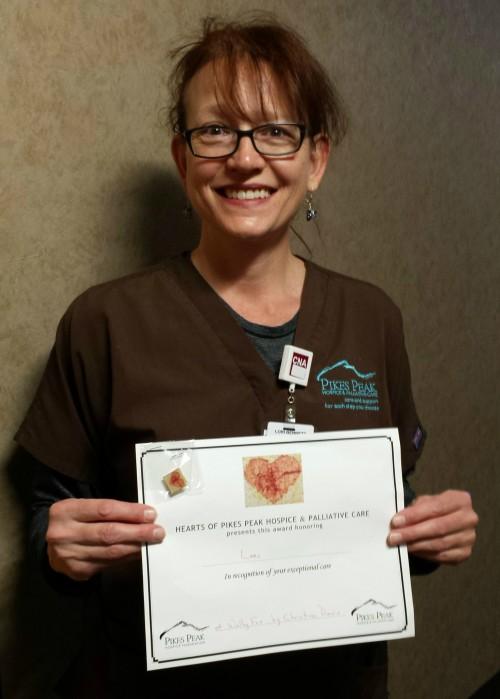 Hearts of Hospice Recipients