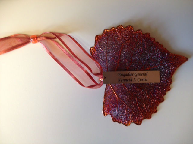 Tribute Cottonwood Ornament